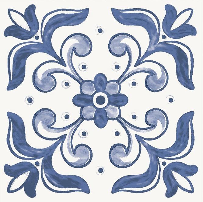 Azulejo Portugu 234 S Kit 52 5x52 5 Com 9 Desenhos Digitais