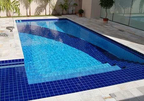 Azulejo revestimento piscina e reas externas cobalto - Azulejos para piscina ...