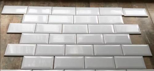 azulejo subway bisote blanco 7,5x15 1ra calidad roca incepa