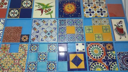 azulejo talavera decorado artesania guanajuato.