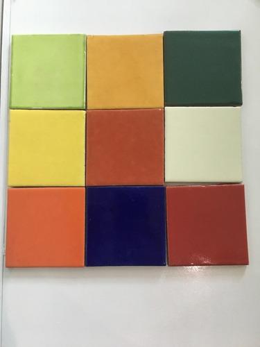 azulejo talavera liso artesania guanajuato.