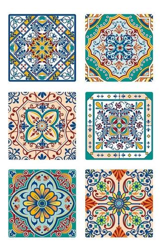 azulejo vinilo autoadhesivo 16451 muresco 6u 15 x 15 cm soul