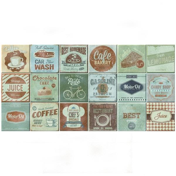 Azulejo vintage lanzi parede decora o cer mica elegance r 59 90 em mercado livre - Azulejos vintage ...