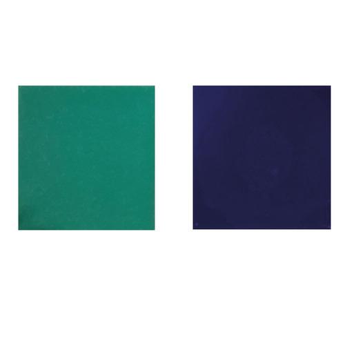 azulejos acuarela 15x15 color azul brillante verde esmeralda