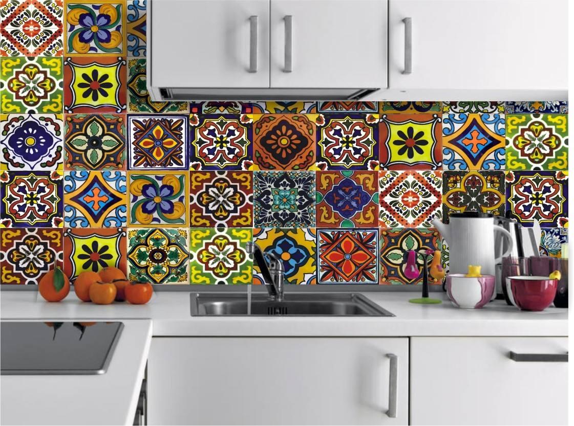 Azulejos Adhesivos Laminados Cocina Baño 15x15cm 15 Unidad. - $ 346 ...