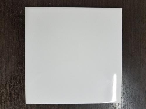 azulejos blancos  brillante 15 x 15 cm