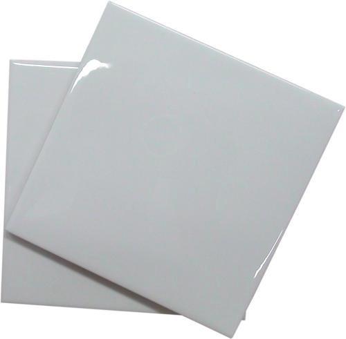 Azulejos brancos resinados para sublima o 15x15 pct 18 - Azulejo 15x15 ...