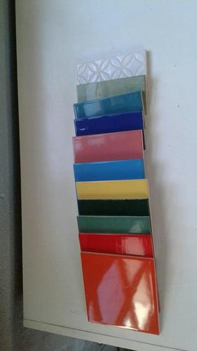 azulejos ceramicos, mosaiquismo. variedad en colores