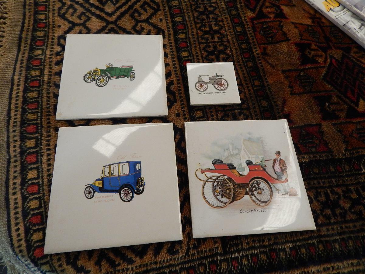 Azulejos Con Dibujos De Autos Clasicos 15000 En Mercado Libre - Azulejos-con-dibujos