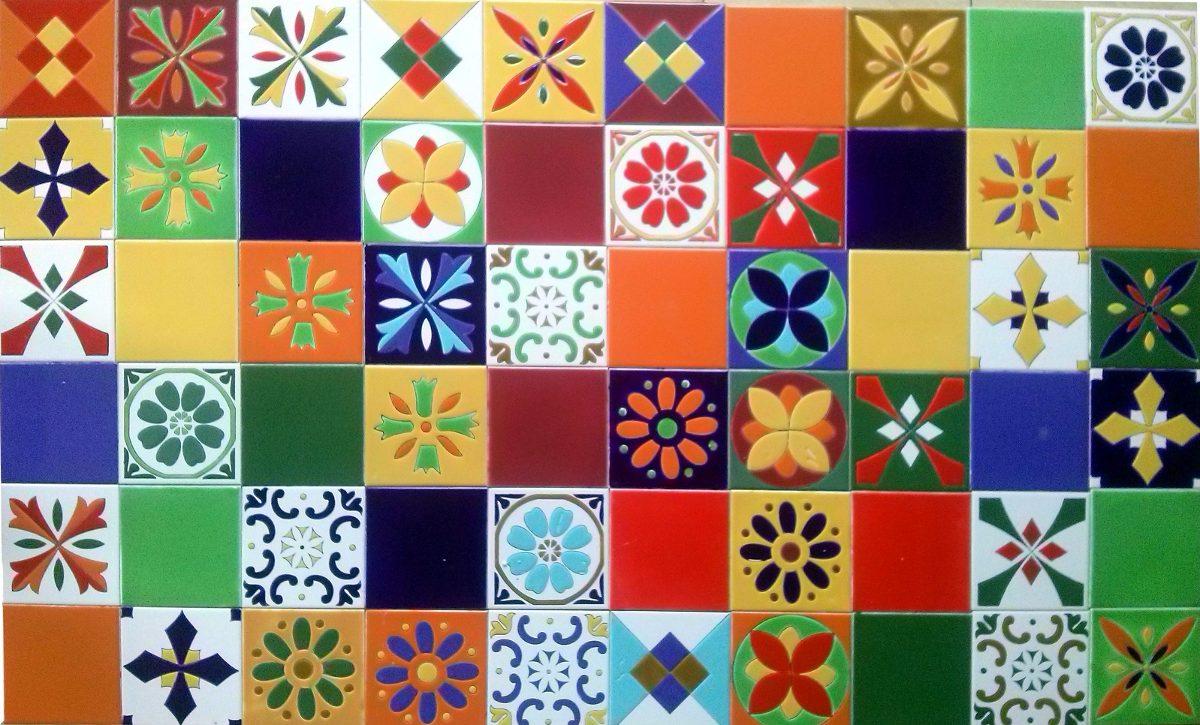 Azulejos de ceramica de colores baldosas 15x15 para - Mosaicos de colores ...