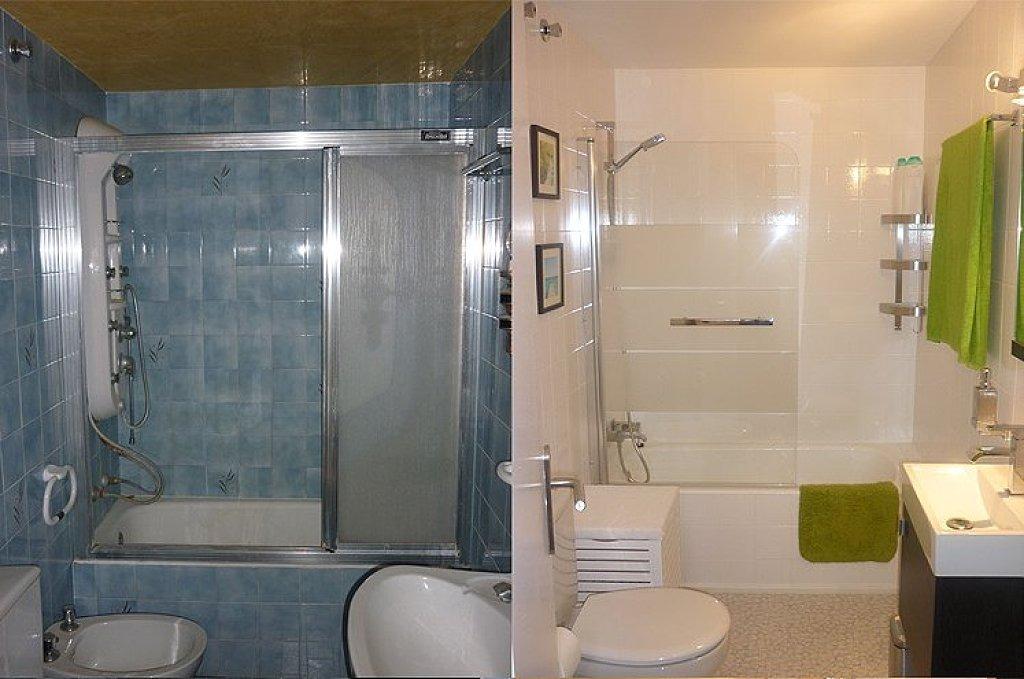 Genial pintura azulejos ba o galer a de im genes - Cocinas y banos ...