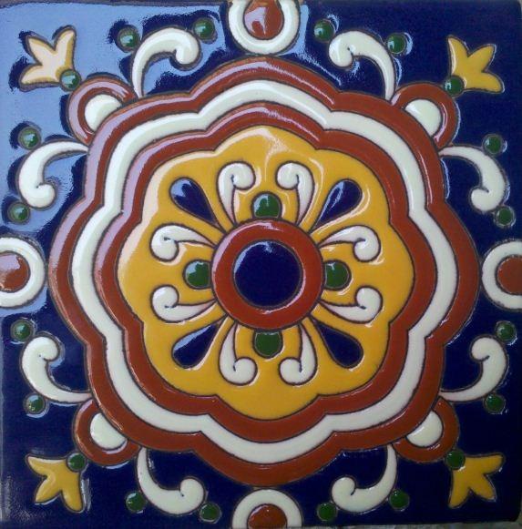Azulejos talavera relieve en mercado libre - Donde comprar pintura para azulejos ...