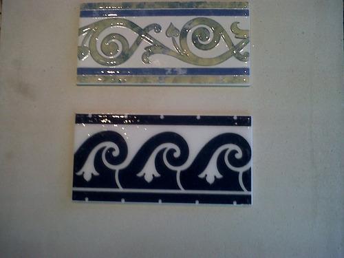 azulejos y ceramicas decorados en colores