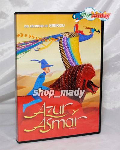 azur y asmar - azur et asmar - español latino, región 1 y 4