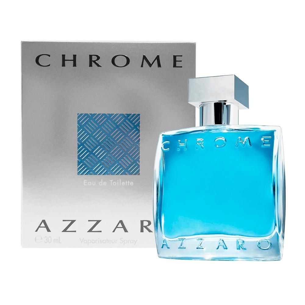 3694bb89f4 azzaro chrome perfume masculino eau de toilette 30ml lacrado. Carregando  zoom.