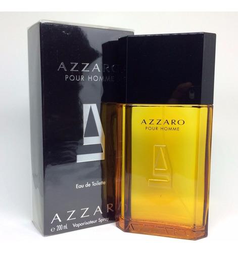 azzaro pour homme 200ml masculino  + amostra de brinde