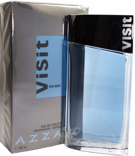azzaro visit for men 100ml edt | 100% original