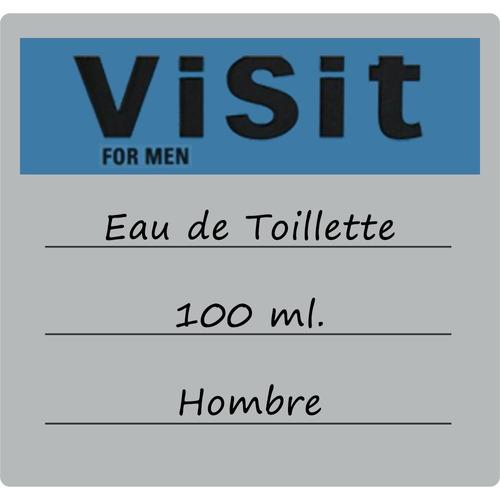 azzaro visit for men 100ml edt | 100% original