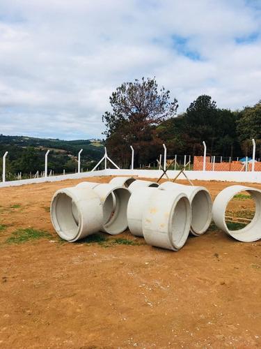b 1.000m2 pronto para construir com infraestrutura 100%plano