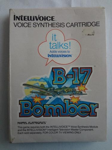 b-17 bomber_ intellivision _ shoryuken games