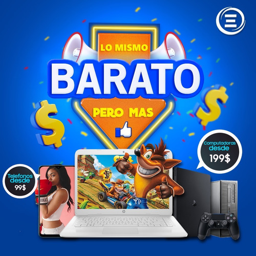 b a r a t a hp intel 500dsc+4ram+15.6¨+nueva+win10+webcam i3