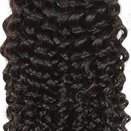 b & p pelo 7a brasileña virginal del pelo rizado armad