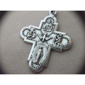 B. Antigo- Crucifixo Com Divino Espírito Santo Frete Grátis1