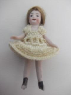 b. antigo - boneca alemã antiga em biskui all bisque german
