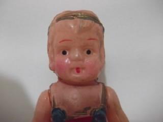 b. antigo - boneca antiga em celulóide japones