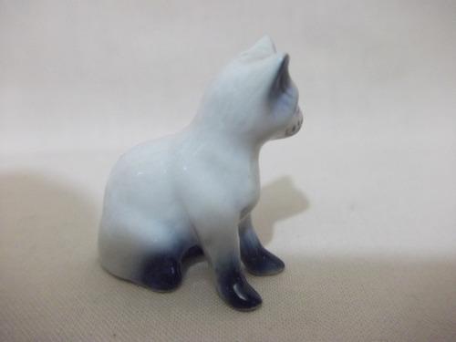b. antigo - gatinho miniatura em porcelana alemã