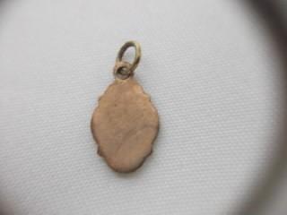 b. antigo - medalha em esmalte são joão batista frete grátis