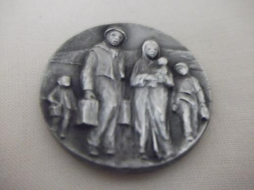 b. antigo - medalha italiana settembre 1990 per l'emigratto