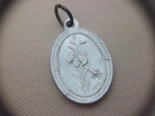 b. antigo- medalha sacra antiga de sta filomena frete grátis