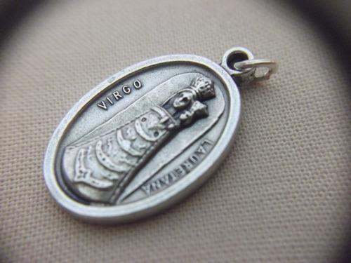 b. antigo - medalha sacra da sagrada familia frete grátis