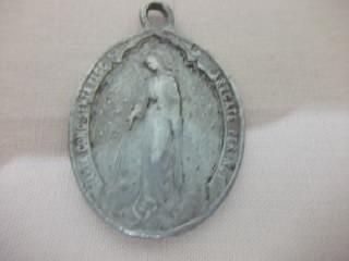 b. antigo - medalha sacra de s. paulo da cruz frete grátis