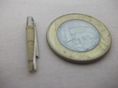 b. antigo - micro canivete antigo com capa em madeira