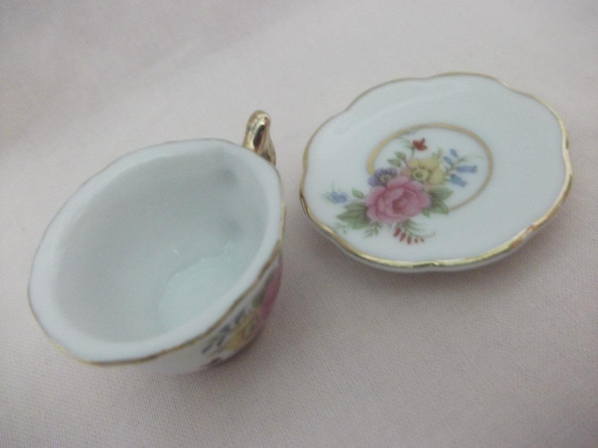 B antigo mini x cara em porcelana italiana r 65 00 for Porcelana italiana