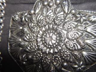 b. antigo - pingente medalhão marroquino com banho de prata