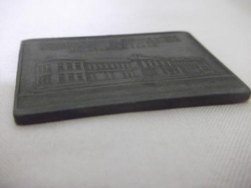 b. antigo- placa bronze inauguração maternidade buenos aires