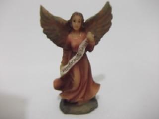 b. antigo - presépio sagrada familia italiana em miniatura
