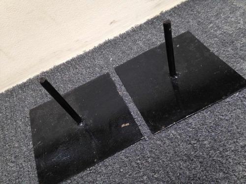 b | base de piso | fuegos artificiales fríos | 2 uni