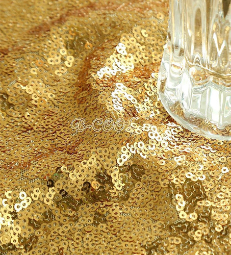 b-cool lentejuelas de oro de la tela de fondo la fotografía