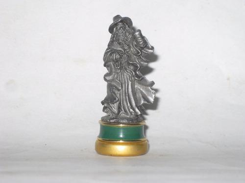 b el señor de los anillos pieza ajedrez figura plomo mide5cm
