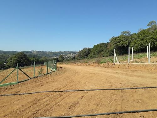 b excelente terreno plano 1.000 m2 ideal para sua chacara