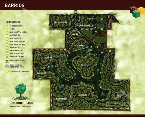 bº haras santa maria (el trebol) - lote de 1067 m²