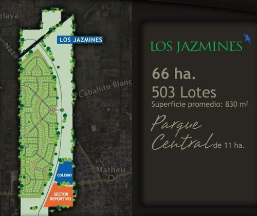 bº pilar del este (los jazmines) - lote de 1100 m²
