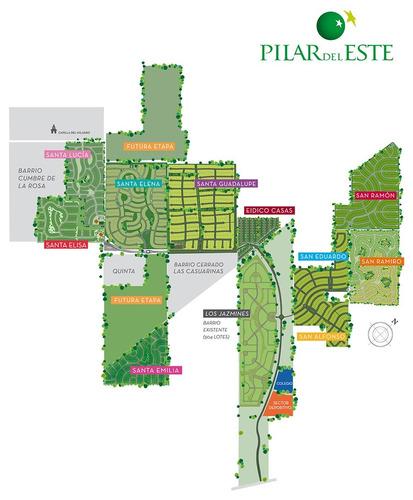 bº pilar del este (sta. guadalupe) - lote de 667 m²