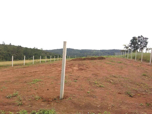 b terreno 1.000 m2 limpos, 100% plaino pronto para construir