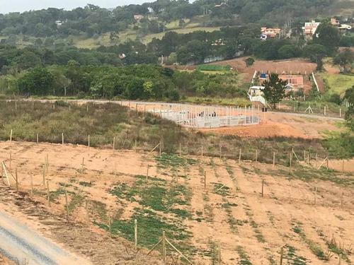 b terreno 1.000 m2 pronto para construir, 300 mts do asfalto