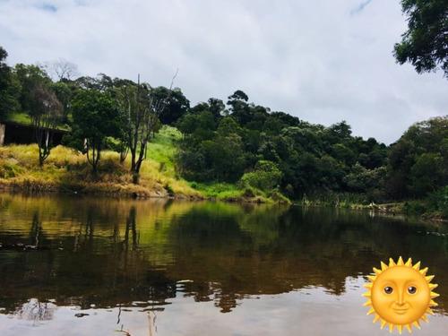 b terreno 1.000m2, com trilha, pesqueiro e portaria sem taxa